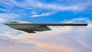 New B-21 Raider Stealth Bomber Rendering Released By The Air Force