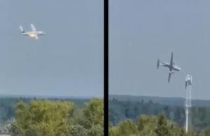 Prototype Il-112V crashes after apparent in-flight engine fire